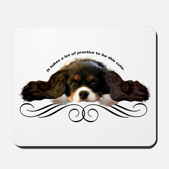 Cavalier Cute plain Mousepad