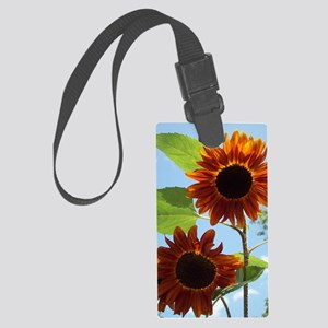 let the light shine through Large Luggage Tag