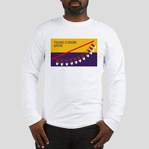 Tohono O'odham Flag Long Sleeve T-Shirt