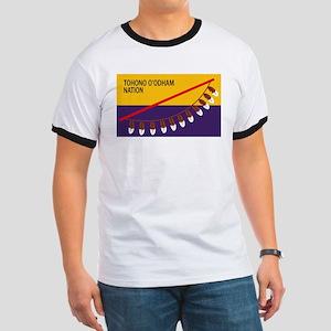 Tohono O'odham Flag Ringer T