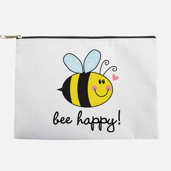 Bee Happy Makeup Pouch