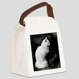 Il Gatto Bello Canvas Lunch Bag