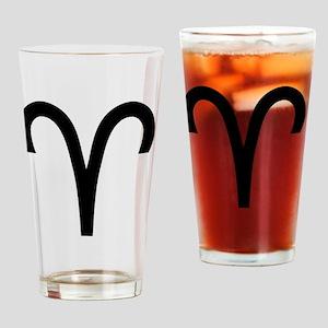 1aries Drinking Glass