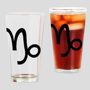 10capricorn Drinking Glass