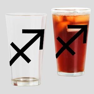 9saggitarius Drinking Glass