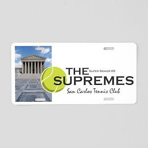 Supremes tee shirt 2012 Aluminum License Plate