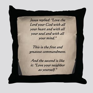 Command3 Throw Pillow
