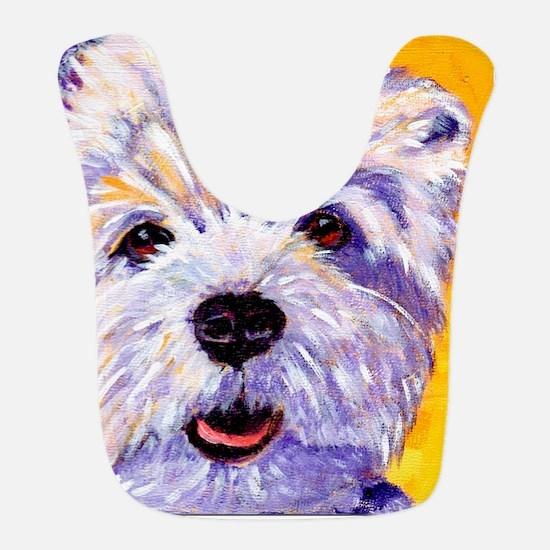 West Highland Terrier- Sunny Bib