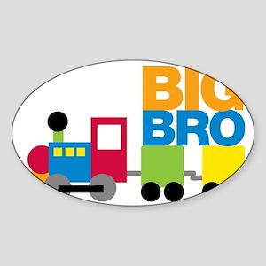 TrainsBigBro Sticker (Oval)