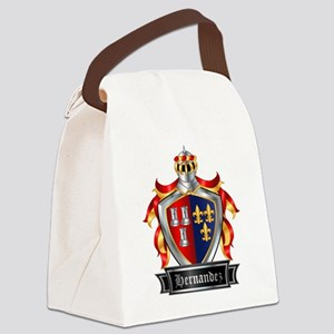 HERNANDEZ COAT OF ARMS Canvas Lunch Bag