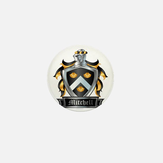 MITCHELL COAT OF ARMS Mini Button