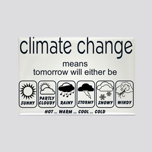CLIMATE CHANGE t-shirt Rectangle Magnet