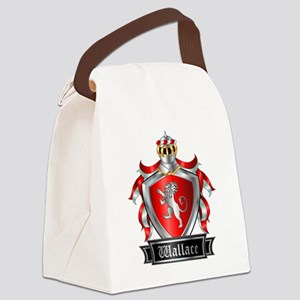 WALLACE COAT OF ARMS Canvas Lunch Bag