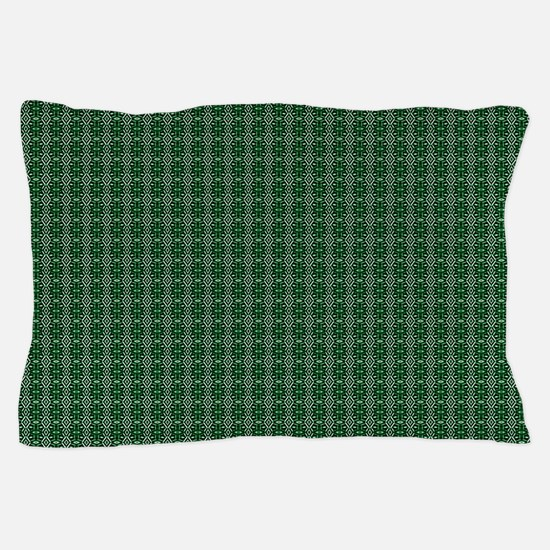 Meshed (Jade Green) Pillow Case