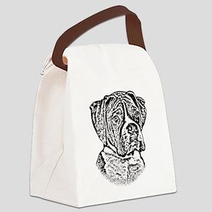 B@W Boxer Canvas Lunch Bag