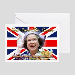 Queen Elizabeth Diamond Jubilee Greeting Card