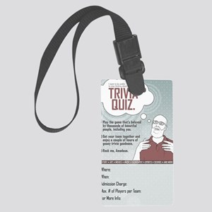 pub_quiz-poster_02 Large Luggage Tag