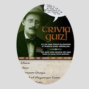 pub_quiz-poster_04 Oval Ornament