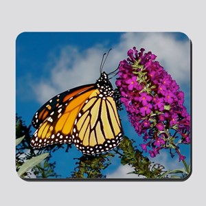 Monarch Butterfly Jigsaw Puzzle Mousepad
