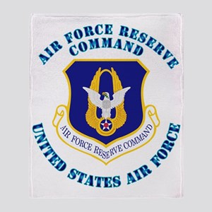 Air-Force-Reserve-Cmdwtxt Throw Blanket