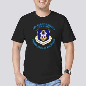 Air-Force-Reserve-Cmdw Men's Fitted T-Shirt (dark)
