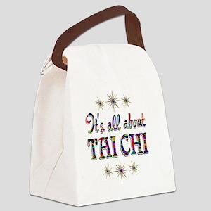 taichi Canvas Lunch Bag