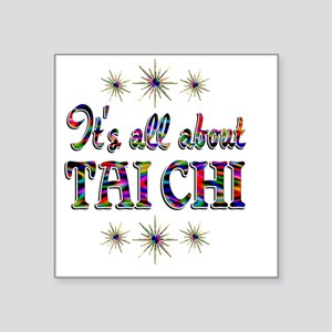 """taichi Square Sticker 3"""" x 3"""""""
