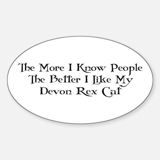 Like Devon Oval Decal