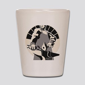 Black_smith_giant-grey Shot Glass