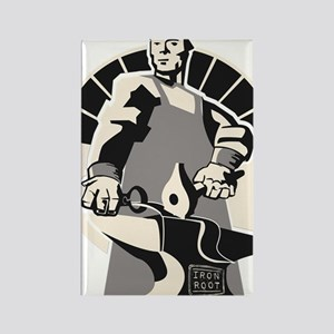 Black_smith_giant-grey Rectangle Magnet