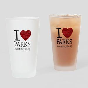 IHP_logo_big Drinking Glass