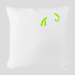 whitelittleslogo Woven Throw Pillow