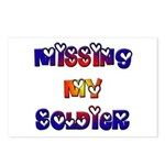 Missing My Soldier Postcards (Package of 8)