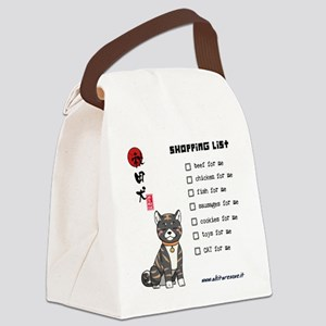 AkitaShopping_canvas_messenger_ba Canvas Lunch Bag