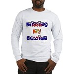 Missing My Soldier Long Sleeve T-Shirt