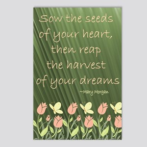 seeds Postcards (Package of 8)