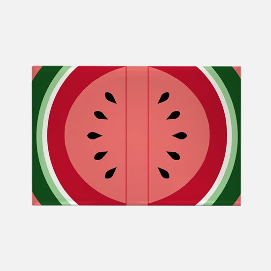 watermelon Rectangle Magnet
