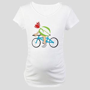 pdtulip-bike Maternity T-Shirt