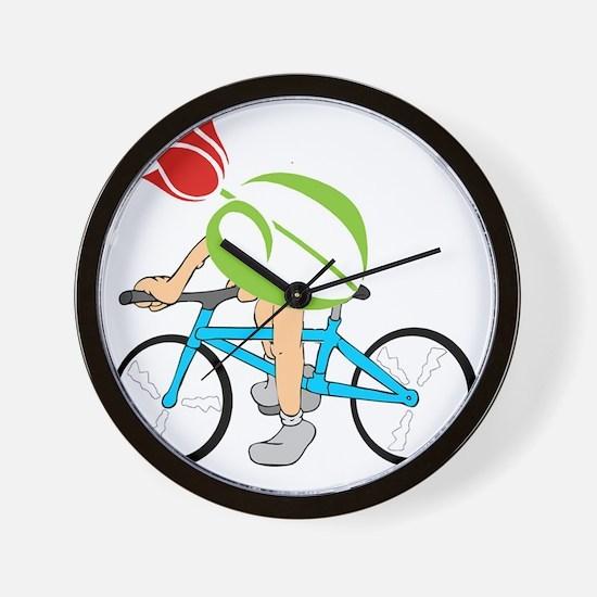 pdtulip-bike Wall Clock