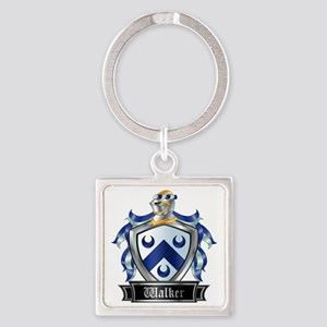 WALKER COAT OF ARMS Square Keychain