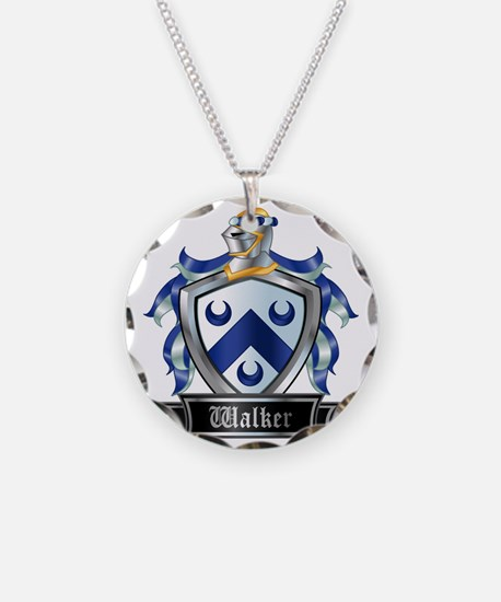 WALKER COAT OF ARMS Necklace