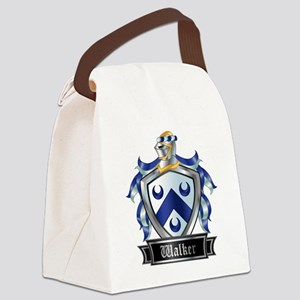 WALKER COAT OF ARMS Canvas Lunch Bag