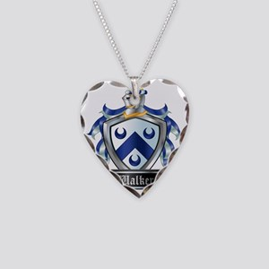 WALKER COAT OF ARMS Necklace Heart Charm