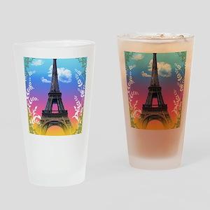 eiffel-tower-paris-france Drinking Glass