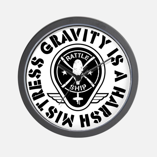 Rattleship Gravity Wall Clock