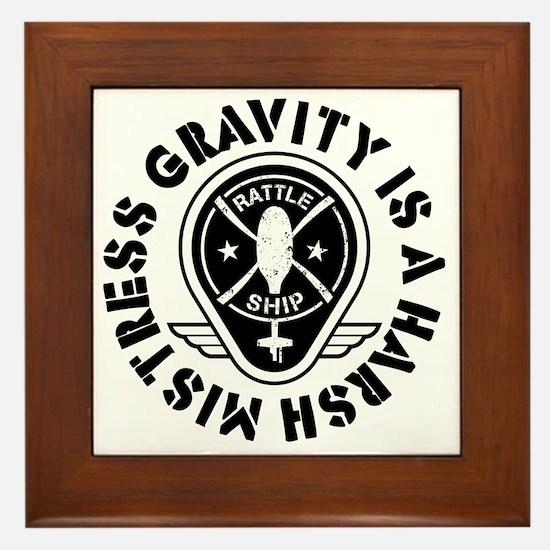 Rattleship Gravity Framed Tile