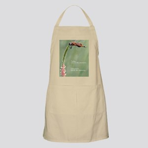 Live in the Moment Card Apron