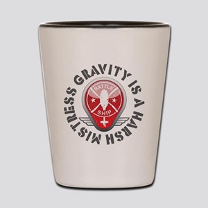 Rattleship Gravity Red Shot Glass