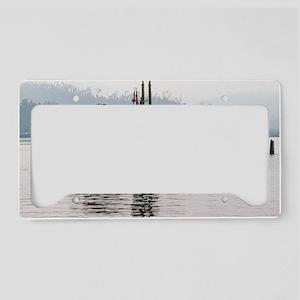 indianapolis framed panel pri License Plate Holder