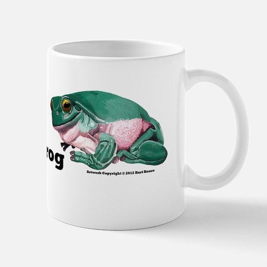 Litoria caerulea bumber sticker Mug